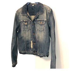 American Eagle Jean Coat Size L